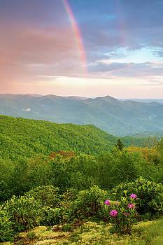 Blue Ridge Parkway NC Rainbow's End by Robert Stephens