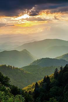 Blue Ridge Parkway NC Woolyback Splendor by Robert Stephens