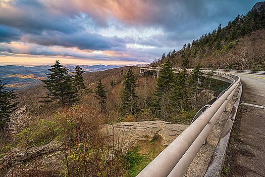 Blue Ridge Parkway - Road to Pineola  by Jason Penland