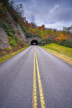Blue Ridge Parkway - Tunnel of Love by Jason Penland
