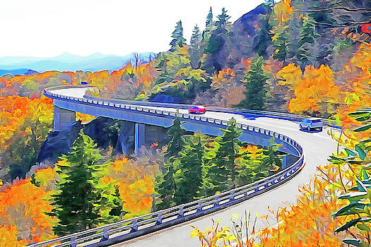 Dennis Cox WorldViews - Blue Ridge Parkway Viaduct