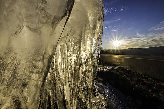 Blue Ridge Parkway Winter by Kevin Blackburn