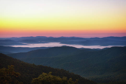 Blue Ridge Sunrise by Scott Masterton