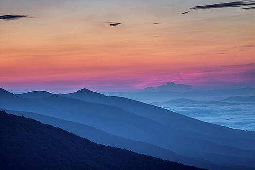 Blue Ridge Sunrise by Steve Hammer