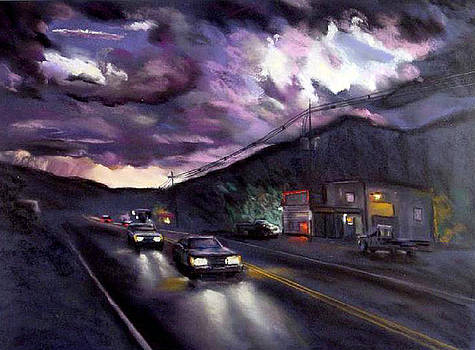 Blue Ridge Sunset by George Grace