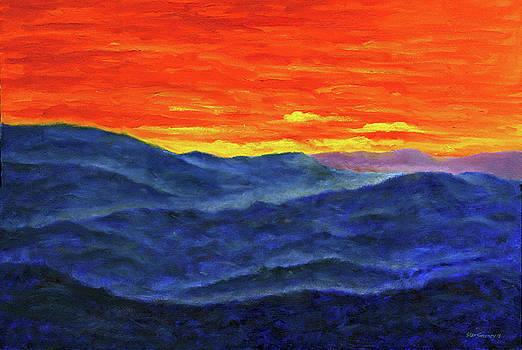 Blue Ridge Sunset2 by Stan Sweeney