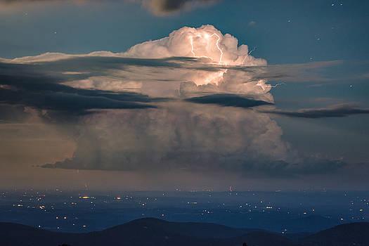 Blue Ridge Thunderhead by Steve Hammer