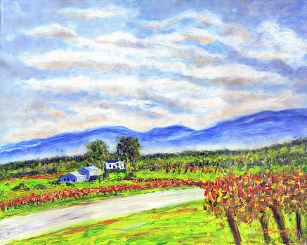 Blue Ridge Winery by Stan Sweeney