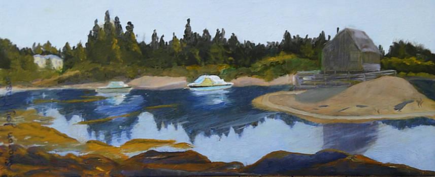 Blue Rocks by Sharonjoy Mason
