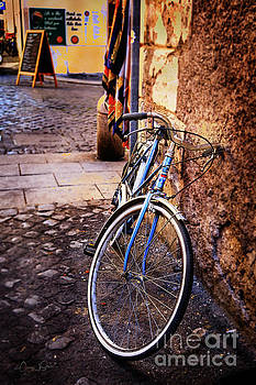Blue Rome Bicycle by Craig J Satterlee