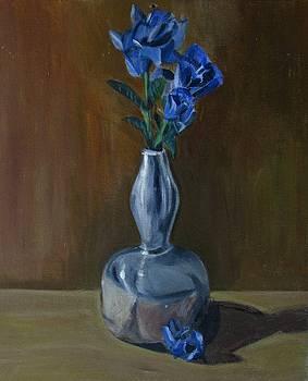 Blue Roses by Ai P Nilson