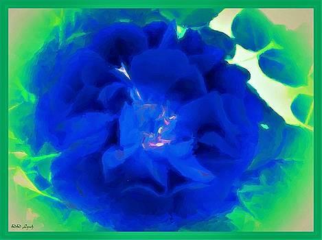 Blue Roses  by Debra Lynch