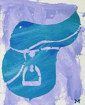 Blue Saddle by Candace Shrope