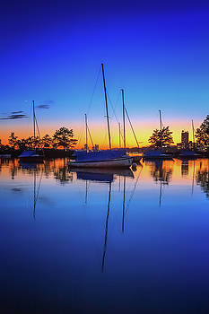 Sylvia J Zarco - Blue Sails in the Sunset
