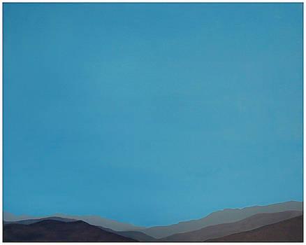 Stan  Magnan - Blue San Jacintos