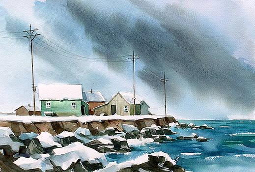 Blue Shore by Art Scholz