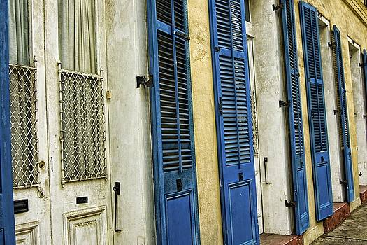 Blue Shutters by Heather S Huston