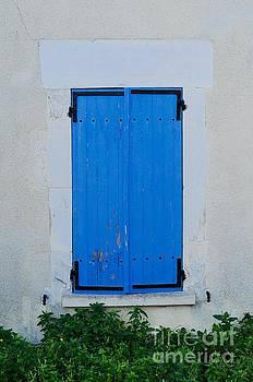 Blue Shutters by Kate Stoupas