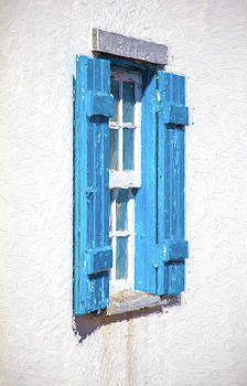 David Letts - Blue Shutters of Portugal