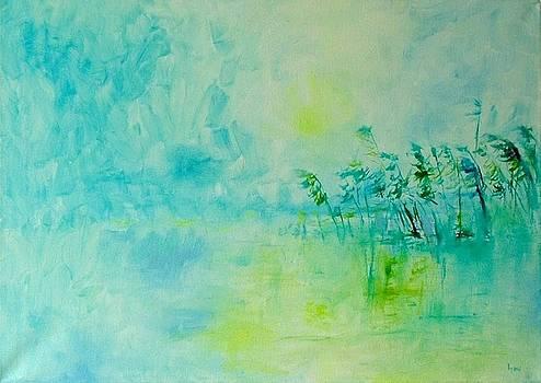 Blue silence by Demeter Gui