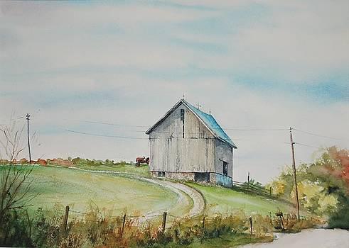 Blue Skies by Mike Yazel