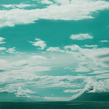Blue skies of Molde, Norway by Sonya Kanelstrand