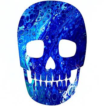 Blue Skull by Carol Blackhurst