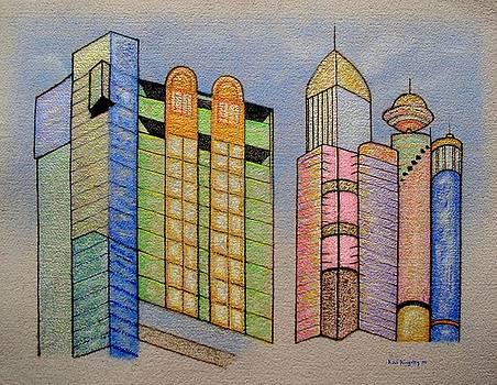 Blue Sky City by Kai Kingsley III