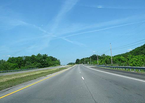 Zau - Blue Sky Empty Road