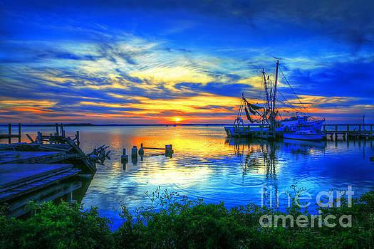 Blue Sky Sunset 2 by Dave Bosse