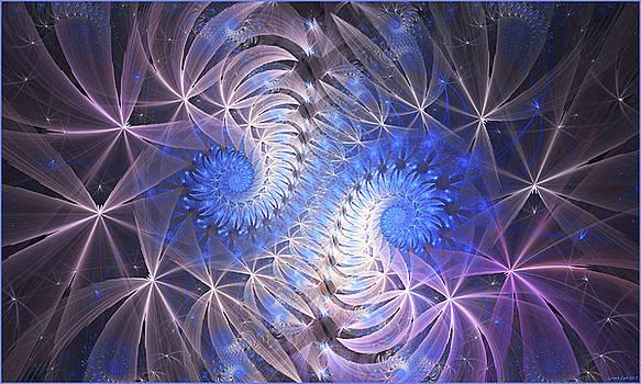 Blue Snails by Lorant Zsolt