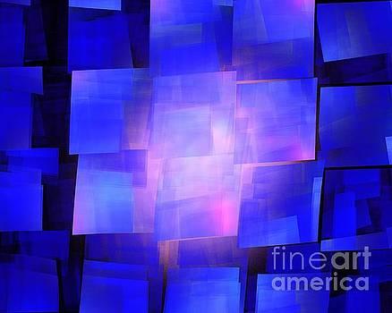 Blue Solar Cubes by Kim Sy Ok