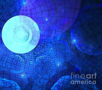 Blue Space Horizon by Kim Sy Ok