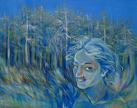 Anna  Duyunova - Blue Spring