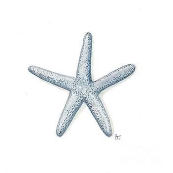 Blue Starfish by Stephanie Troxell