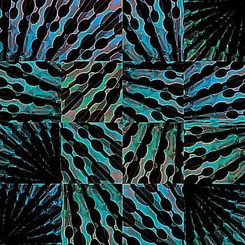 Blue Sticks by Cooky Goldblatt