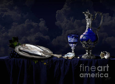 Alexa Szlavics - Still life in blue