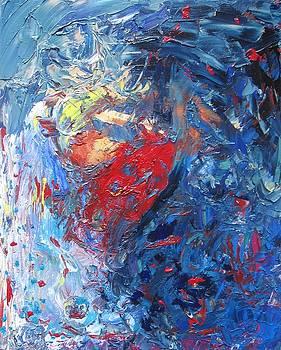 Blue Storm by Elena Soldatkina