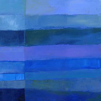 Blue Stripes 2 by Jane Davies