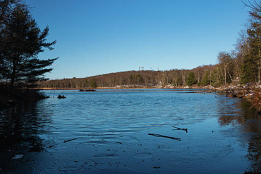Blue Sunday at Louisa Pond by Jeff Severson