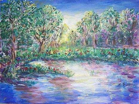 Blue Sunrise by Mary Sedici