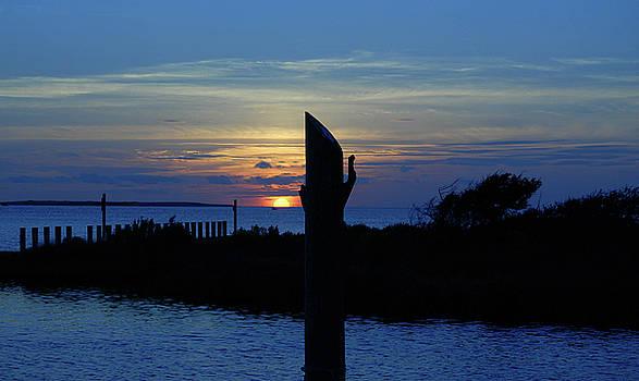 Blue Sunset by Debbie Morris