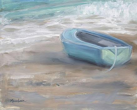 Blue Sunset by Melissa Herrin