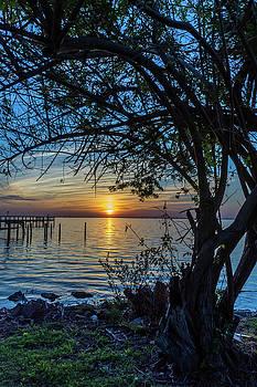 Blue Sunset by Robert Langdon
