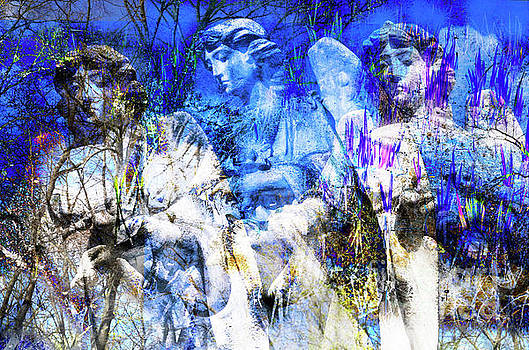 Blue Symphony of Christmas by Silva Wischeropp