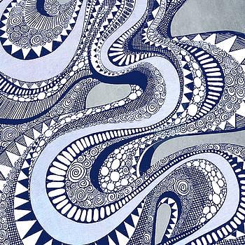 Blue Taffy by Brenda Erickson