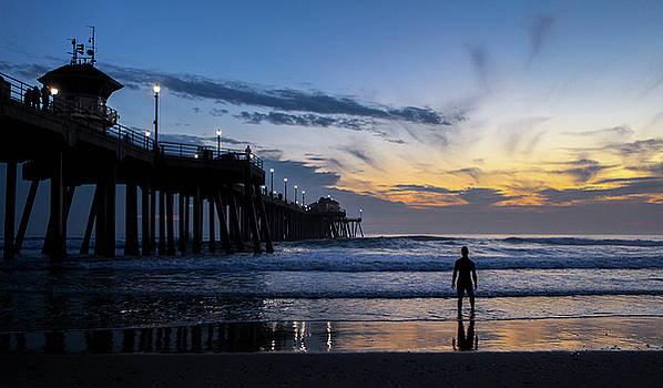 Huntington Beach - Bring on the Night by Kip Krause