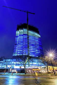 Blue Tower Rising by Randy Scherkenbach