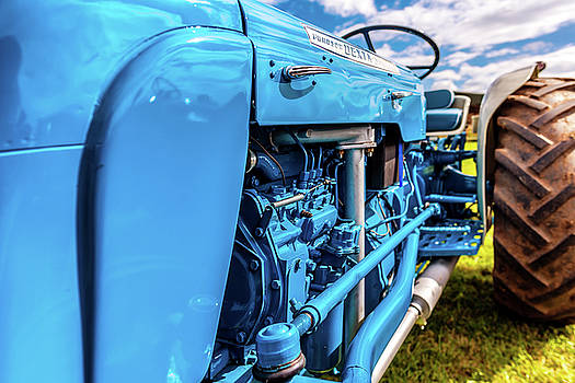 Blue Tractor by Nick Bywater