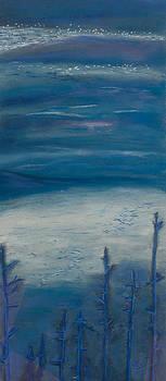 Blue Tranquility by Victoria Stavish
